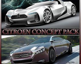 3D Citroen Concept pack
