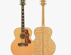 Gibson J-200 Guitar 3D