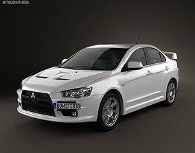 Mitsubishi Lancer Evolution X 3D