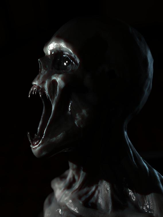 zombie / vampire creature