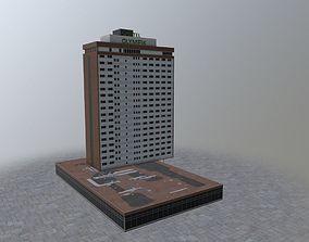 3D model Prague Hotel Olympik