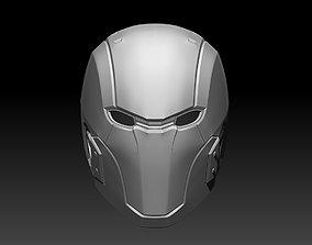 3D print model High-detail Red Hood helmet mask for 3