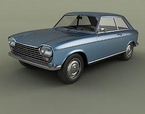 3D model Peugeot 204 Coupe