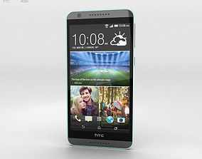 HTC Desire 820 Tuxedo Grey 3D