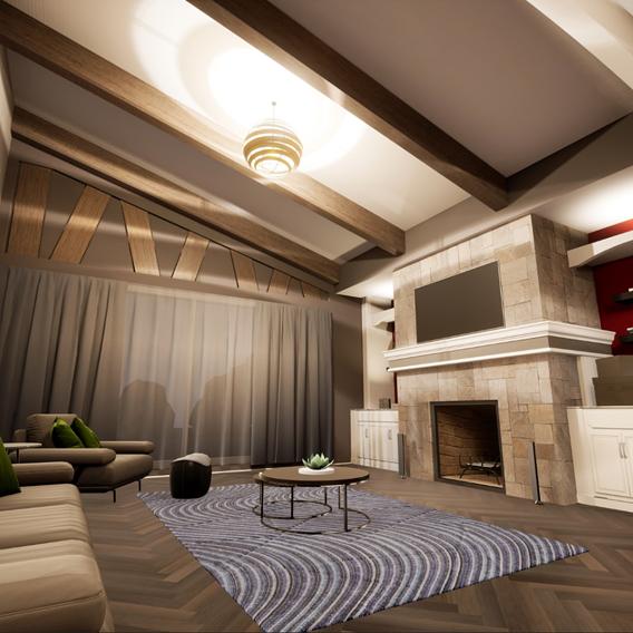 Living Room & Dining Renovation