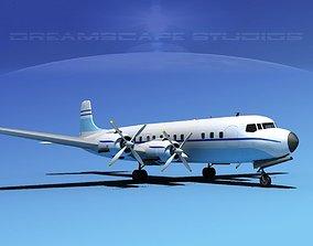 Douglas DC-7C Corporate 6 3D