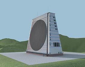 3D model Paving Claw Phased Array Radar Chinese Radar