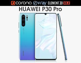 Huawei P30 Pro Breathing Crystal 3D model