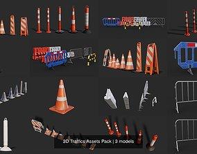 PBR 3D Traffics Assets Pack