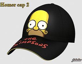 3D Homer Simpson cap 2 gear