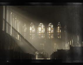 ProfessorE 18AW Church sample scene 2 C4D OC 3D