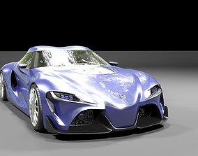 Toyota FT 1 concept 2014 3D