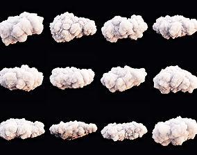 3D model Clouds Set