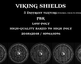 3D asset Viking Shields PBR