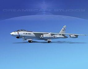 Boeing B-47E Stratojet V05 3D model
