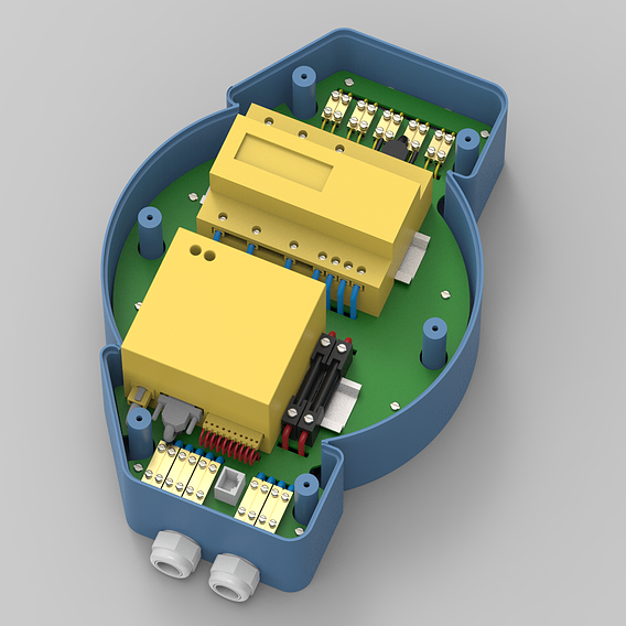 Casing design for Digital Power Meter