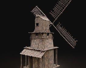 Next Gen AAA Wooden Viking Medieval Enterable 3D asset 1