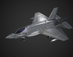 3D model USA Navy F-35C F35C Lightning II Joint Strike