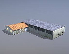 MilitaryBase PortoVelho Storage 02 3D asset