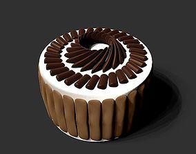 3D model Biscuit cake