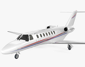 Cessna Citation CJ3 3D model