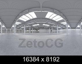 HDRI - Industrial Warehouse Interior 2 - 3D model