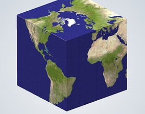 3D print model Earth Cube