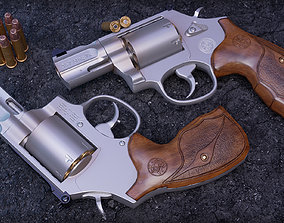 realtime model 357 Magnum Barrel 7 Rounds Wood Grip