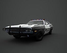 3D model Police Dodge Challenger