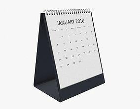 3D model Desk calendar various
