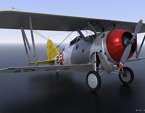 3D model GRUMMAN F2F-1 USS Lexington CV-2 1935-36