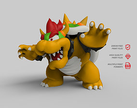 3D printable model Bowser toad