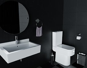 Modern Bathroom Pack 3D