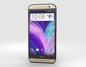 3D model HTC One M8 Harman Kardon edition