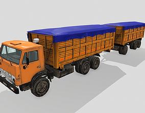 KAMAZ 55102 3D model