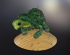 3D model Turtle leaf