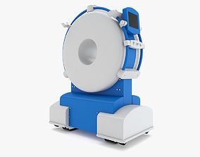 Medical - Short CT Scanner 3D