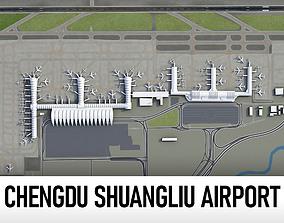 Chengdu Shuangliu International Airport - CTU 3D model