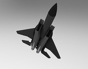 3D F15 aircraft model