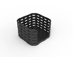 Desk note paper holder 3D printable model