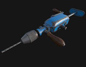 3D Vitage Hand Drill