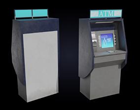 ATM cash machine 3D model