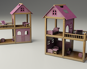3D model Children Toy Dollhouse