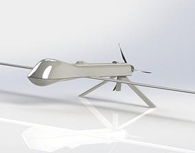 General Atomics MQ-1 Predator 3D printable model