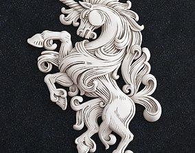 3D print model Horse coat of arms