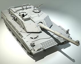 3D model Ariete tank