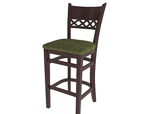 3D Edinburgh bar chair