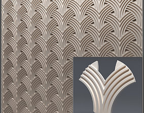 Gypsum 3D panel 36