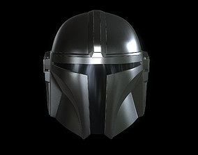 3D printable model The Mandalorian Helmet