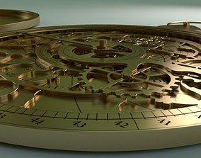 Astrolabe Hyperrealistic 3D model